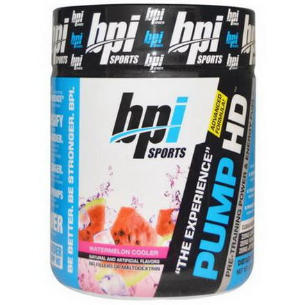 BPI Sports, Pump HD, Watermelon Cooler 250g
