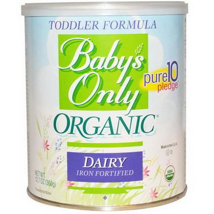 Baby's Only Organic, Toddler Formula, Dairy, Iron Fortified 360g