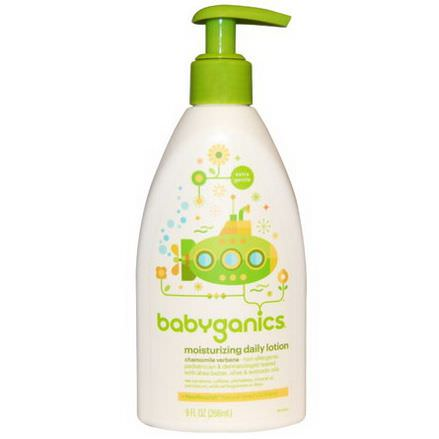 BabyGanics, Moisturizing Daily Lotion 266ml
