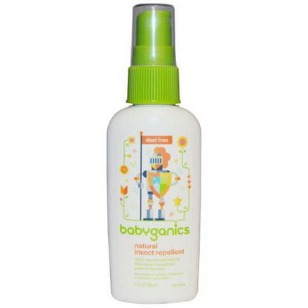 BabyGanics, Natural Insect Repellent 59ml