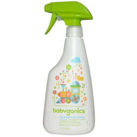 BabyGanics, Toy&Highchair Cleaner, Fragrance Free 502ml