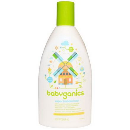 BabyGanics, Vapor Bubble Bath 354ml