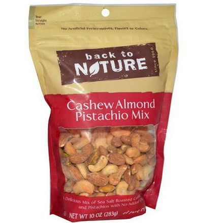 Back to Nature, Cashew Almond Pistachio Mix 283g
