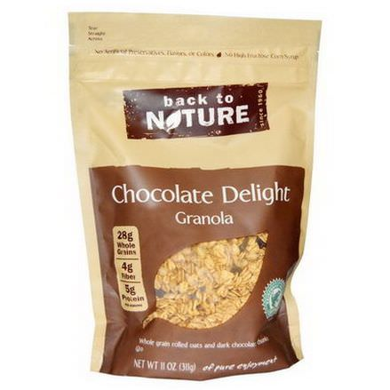 Back to Nature, Chocolate Delight Granola 311g