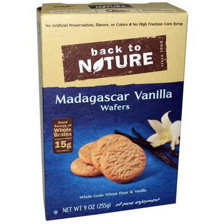 Back to Nature, Madagascar Vanilla Wafers 255g