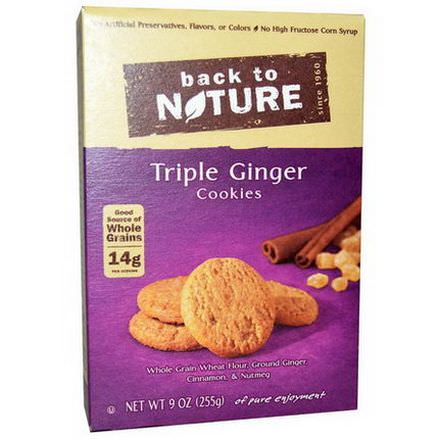 Back to Nature, Triple Ginger Cookies 255g