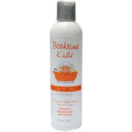 Bathtime Kids, Top To Toe, Body Wash 250ml
