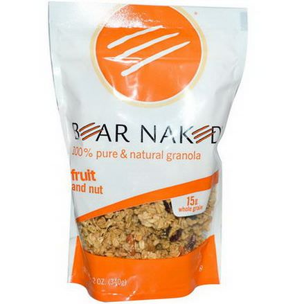 Bear Naked, 100% Pure&Natural Granola, Fruit and Nut 340g
