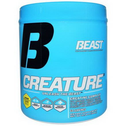 Beast Sports Nutrition, Creature Powder, Citrus Flavor 300g