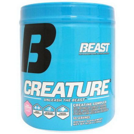 Beast Sports Nutrition, Creature Powder, Pink Lemonade 300g