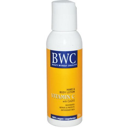 Beauty Without Cruelty, Hand&Body Lotion, Vitamin C With CoQ10 59ml