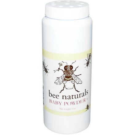 Bee Naturals, Baby Powder, 4 oz