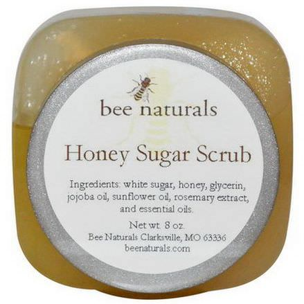 Bee Naturals, Honey Sugar Scrub, 8 oz