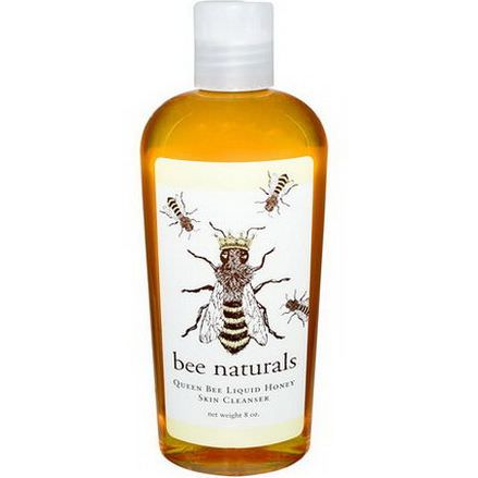 Bee Naturals, Queen Bee Liquid Honey Skin Cleanser, 8 oz