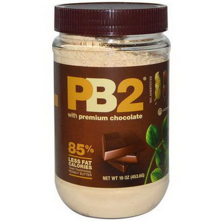 Bell Plantation, PB2, with Premium Chocolate 453.6g