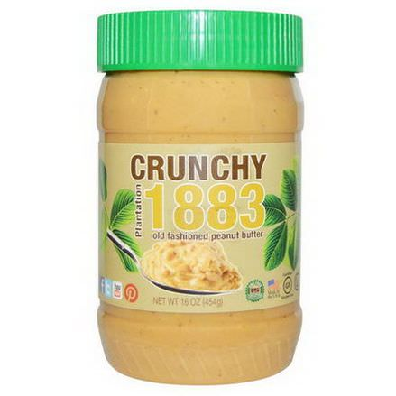 Bell Plantation, Plantation 1883 Crunchy Old Fashion Peanut Butter 454g