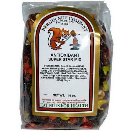 Bergin Fruit and Nut Company, Antioxidant Super Star Mix, 10 oz