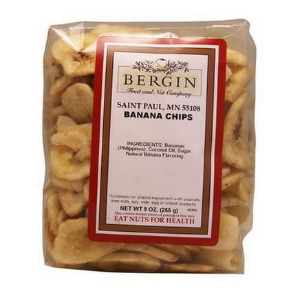 Bergin Fruit and Nut Company, Banana Chips 255g