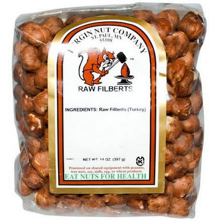 Bergin Fruit and Nut Company, Raw Filberts 397g