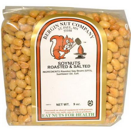 Bergin Fruit and Nut Company, Soynuts Roasted&Salted, 9 oz