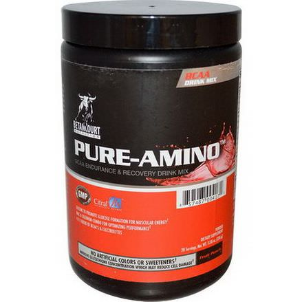 Betancourt, Pure-Amino, BCAA Endurance&Recovery Drink Mix, Fruit Punch 336g