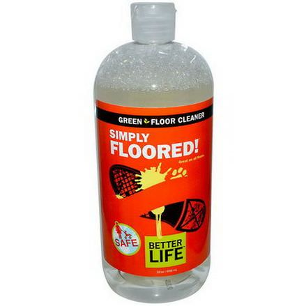 Better Life, Floor Cleaner, Citrus Mint 946ml