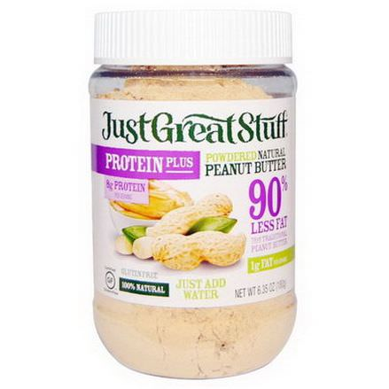 Betty Lou's, Just Great Stuff, Protein Plus, Powdered Natural Peanut Butter 180g