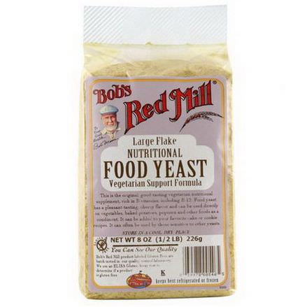 Bob's Red Mill, Large Flake Nutritional Food Yeast 226g