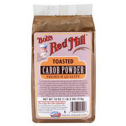 Bob's Red Mill, Toasted Carob Powder 510g