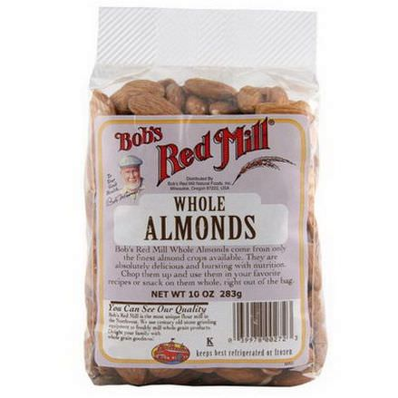 Bob's Red Mill, Whole Almonds 283g