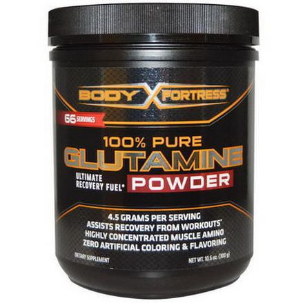 Body Fortress, 100% Pure Glutamine Powder 300g