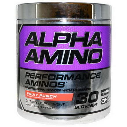 Cellucor, Alpha Amino, Fruit Punch 384g