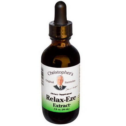 Christopher's Original Formulas, Relax-Eze Extract 59ml