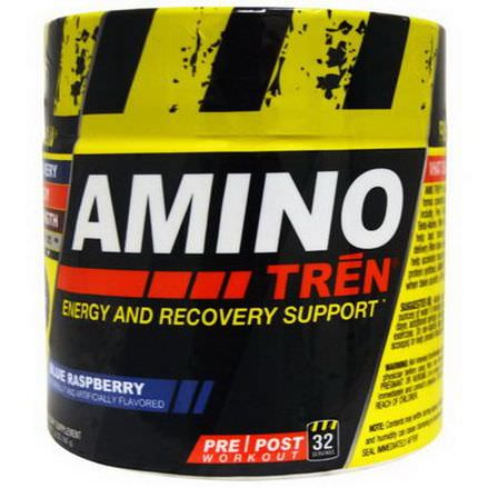 Con-Cret, Amino Tren, Energy and Recovery Support, Blue Raspberry 164g