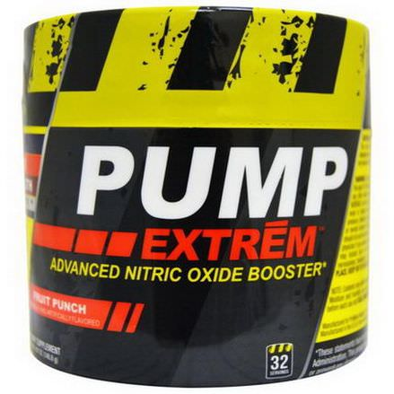 Con-Cret, Pump Extrem, Advanced Nitric Oxide Booster, Fruit Punch 140.8g