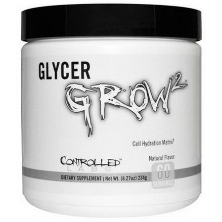 Controlled Labs, GlycerGrow 2, Natural Flavor 234g