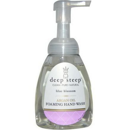 Deep Steep, Argan Oil Foaming Hand Wash, Lilac Blossom 237ml