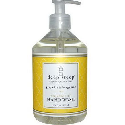 Deep Steep, Argan Oil Hand Wash, Grapefruit Bergamot 520ml