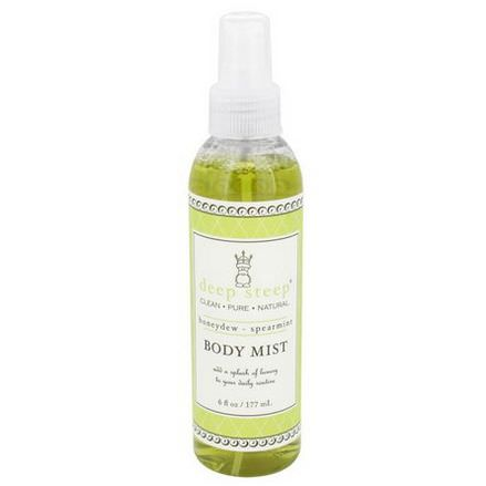 Deep Steep, Body Mist, Honeydew - Spearmint 177ml