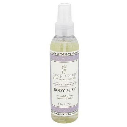 Deep Steep, Body Mist, Lavender - Chamomile 177ml