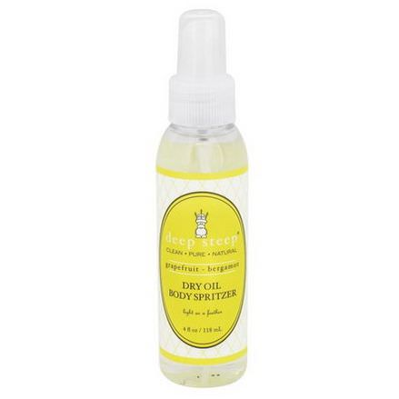Deep Steep, Dry Oil Body Spritzer, Grapefruit Bergamot 118ml