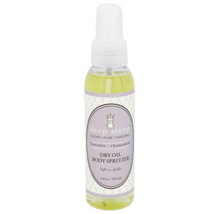Deep Steep, Dry Oil Body Spritzer, Lavender Chamomile 118ml