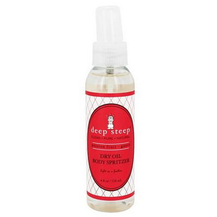 Deep Steep, Dry Oil Body Spritzer, Passion Fruit Guava 118ml