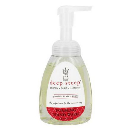 Deep Steep, Foaming Hand Wash, Passion Fruit Guava 237ml