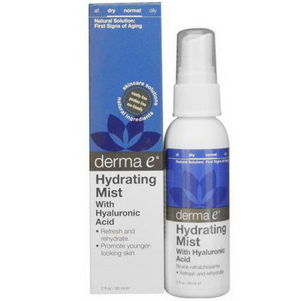 Derma E, Hydrating Mist with Hyaluronic Acid 60ml