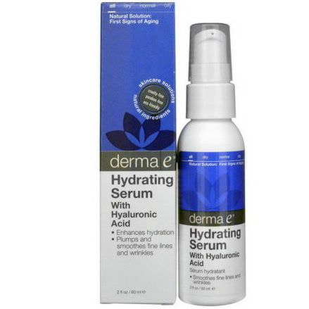 Derma E, Hydrating Serum with Hyaluronic Acid 60ml