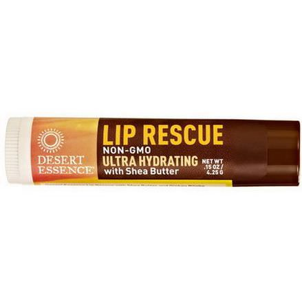 Desert Essence, Lip Rescue, Ultra Hydrating with Shea Butter 4.25g