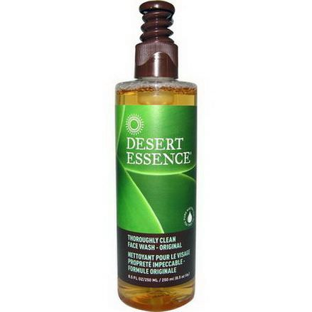 Desert Essence, Thoroughly Clean Face Wash - Original 250ml