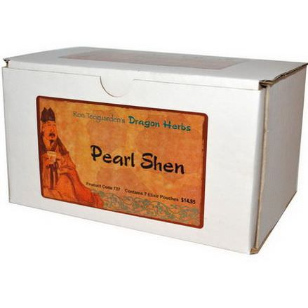 Dragon Herbs, Pearl Shen, Micro-Brewed Herbal Elixir, 7 Pouches
