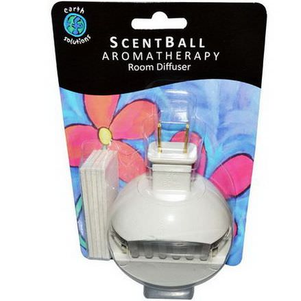 Earth Solutions, ScentBall, Aromatherapy Room Diffuser, 1 Diffuser